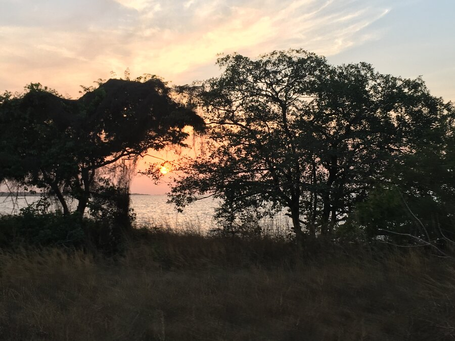 Insel Orango - Sonnenuntergang