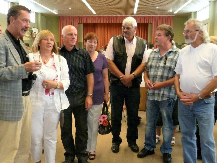 2011 - Wiedersehen 50 Jahre nach der Einschulung ©Archiv Gemeinde Golzow