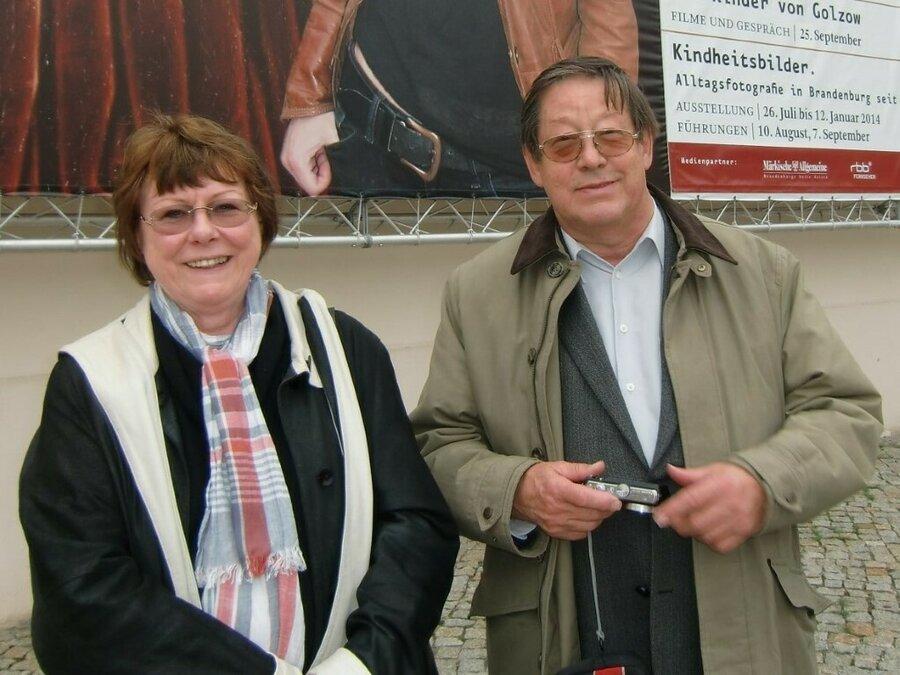 2013 - Dokumentarfilmer Barbara und Winfried Junge ©Archiv Gemeinde Golzow