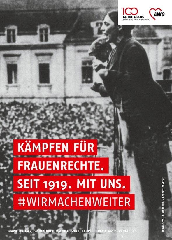 Marie Juchacz - 100 Jahre Frauenrechte