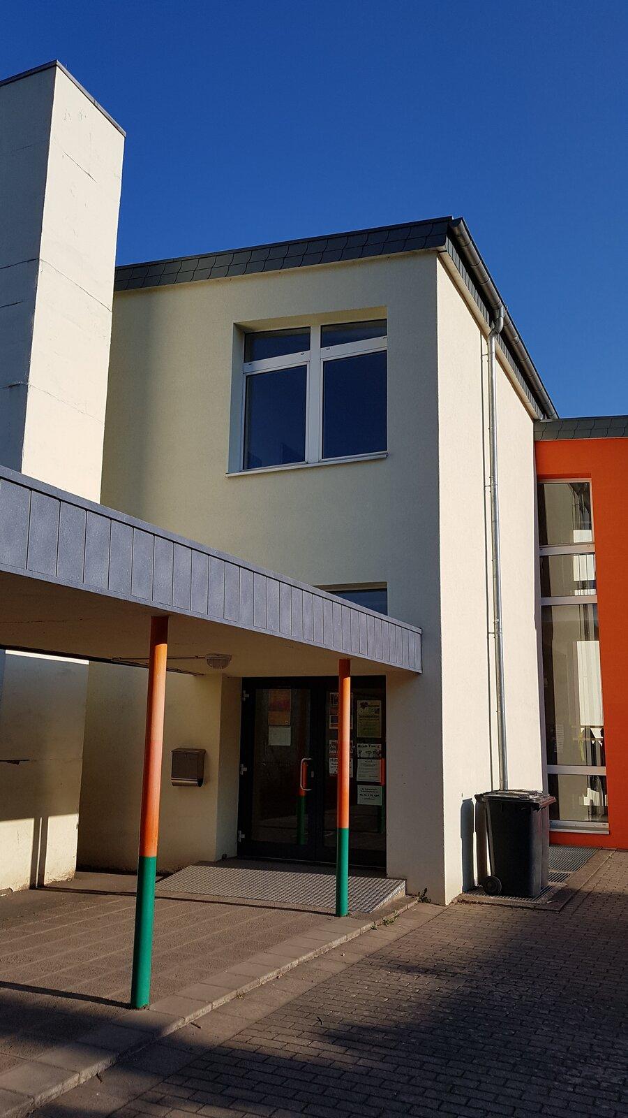Eingang Gebäude 1