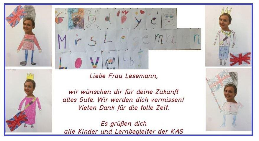 Goodbye, Frau Lesemann