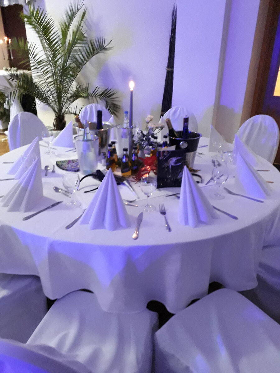 Saal für die Hochzeit