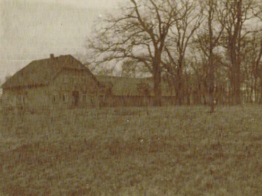 Altes Bild der Hofstelle