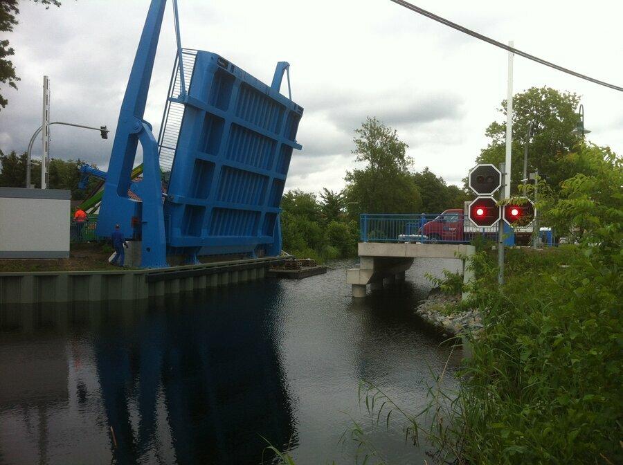 Klappbrücke in Liebenwalde