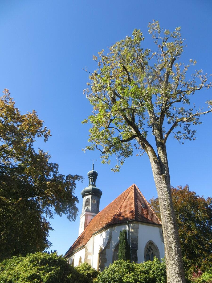 Die Ulrichskapelle im Kloster