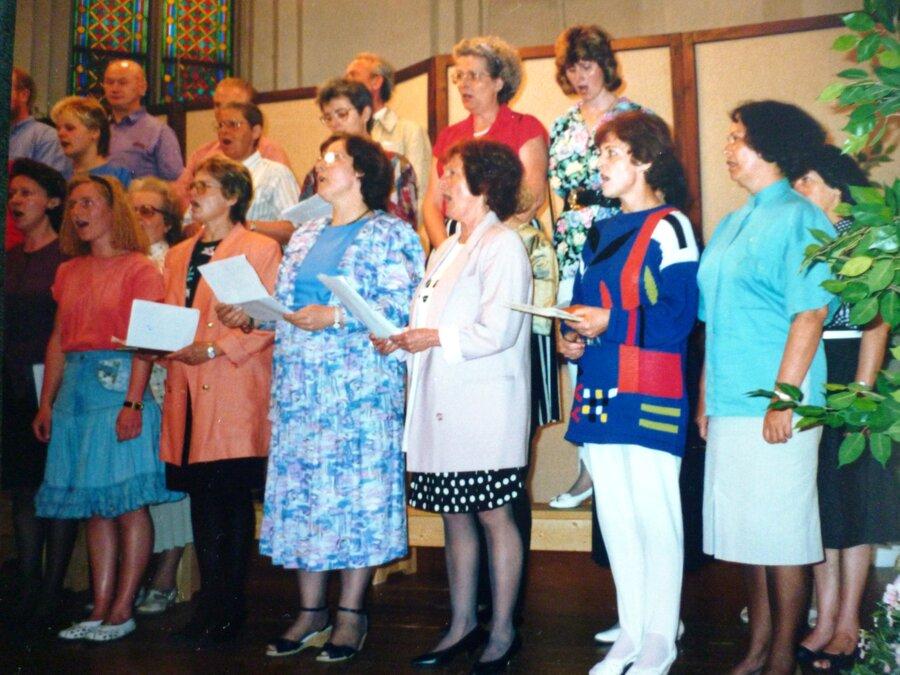 Erste Gesangsversuche 1992