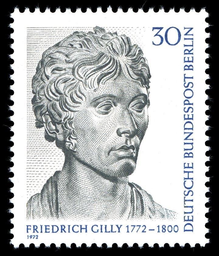 Briefmarke zum 200. Geburtstag