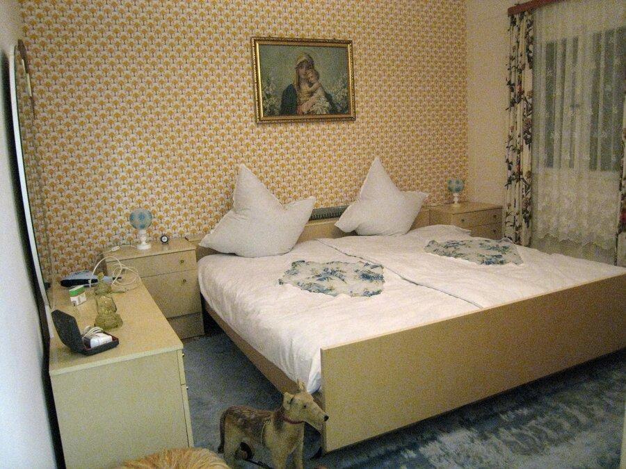 Schlafzimmer um 1960
