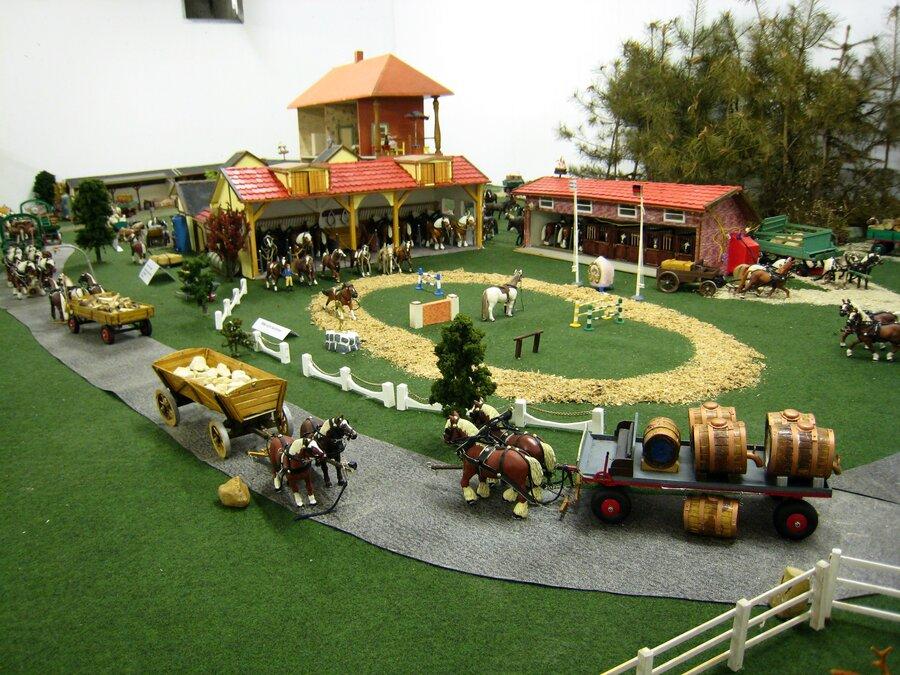 Landwirtschaftliche Modelbauten
