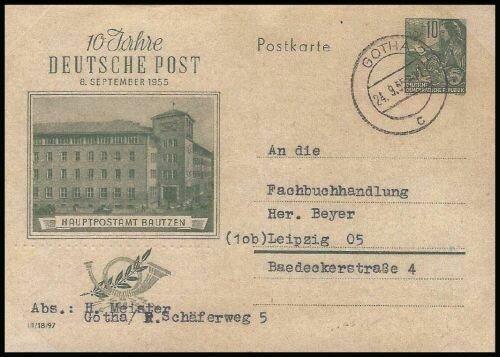 10 Jahre Deutsche Post