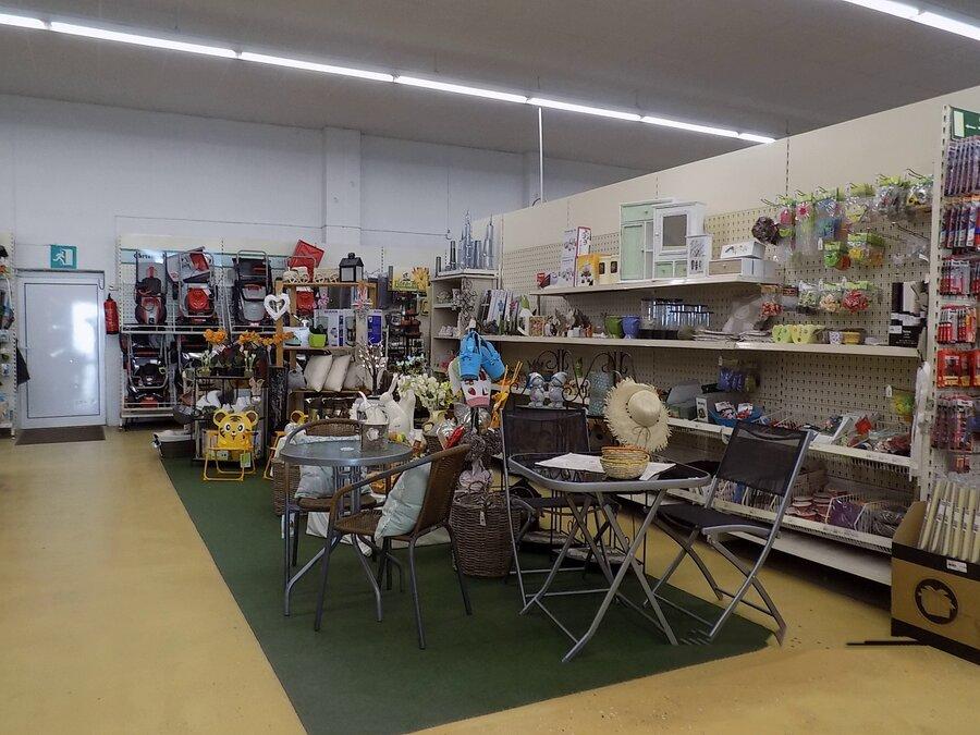 Baumarkt Ausstellungsfläche