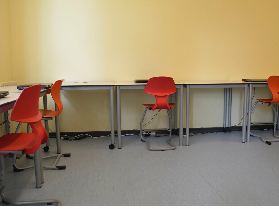 Nebenraum der Lernwerkstatt (Computer)