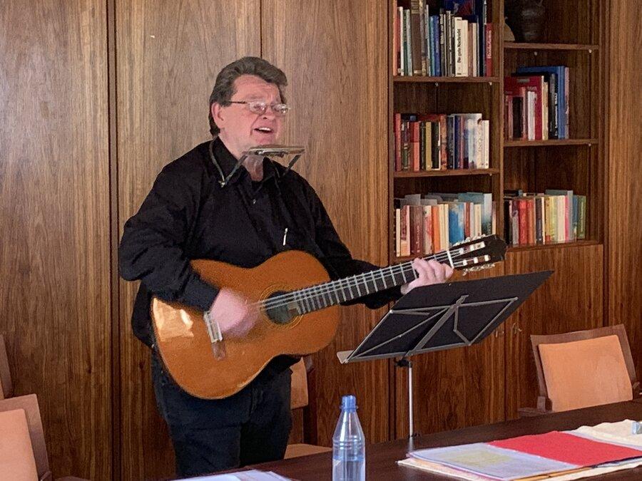Erzählkünstler Klaus Grabenhorst