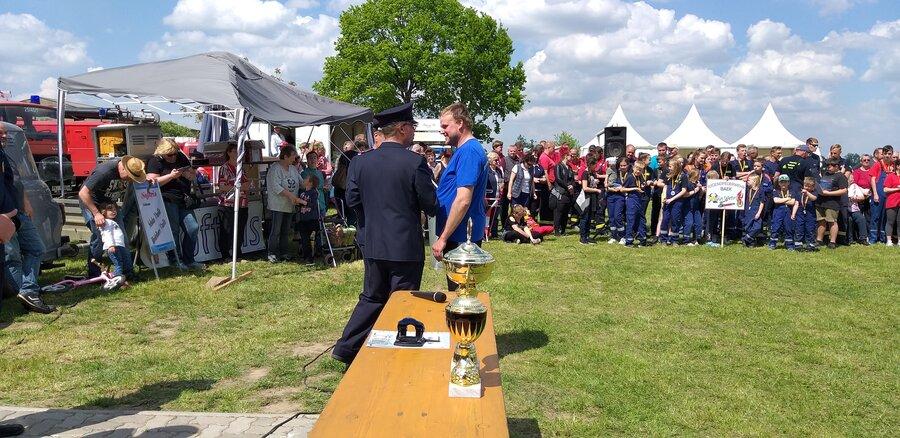 2.Platz Männer FF Vettin