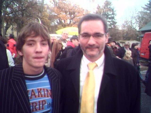 Der Ministerpräsident Herr Platzeck und ich