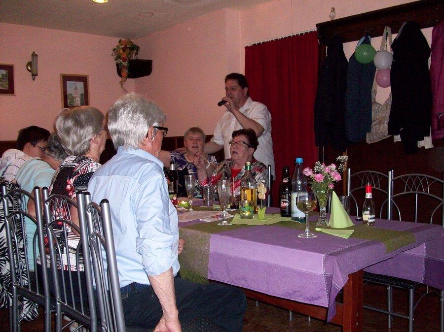 Gesang am Tisch