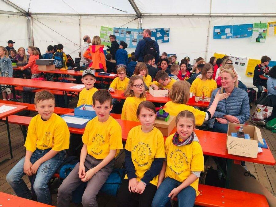 Kleinen Teams der Lilli-Jahn-Schule