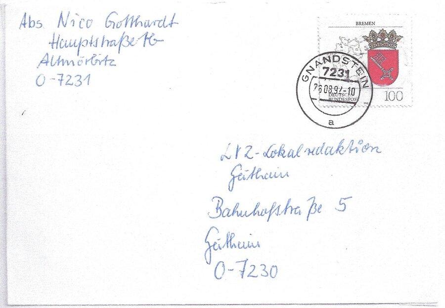 1991 Postamt