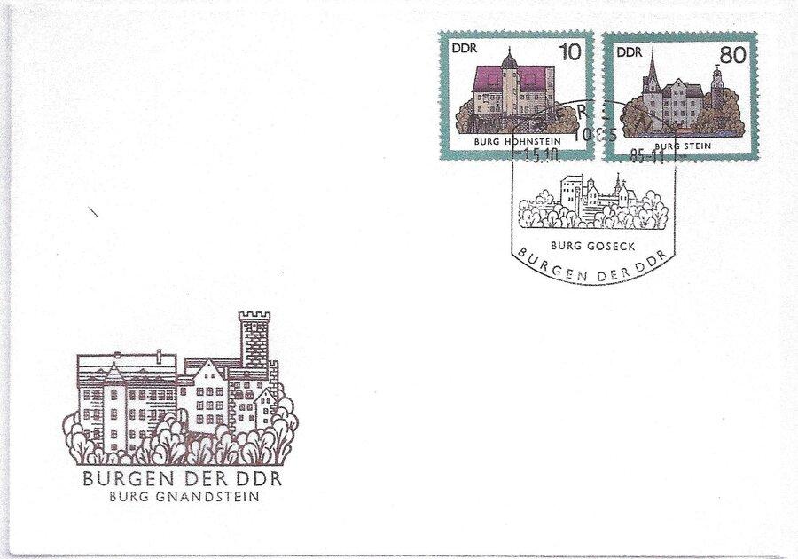 FDC Burg Gnandstein