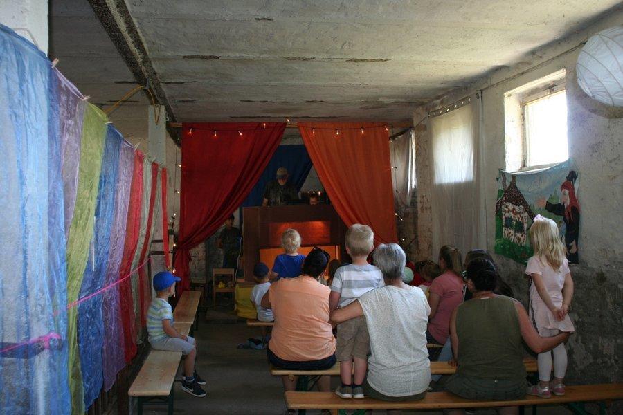 Marionetten-Theater im Kälberstall