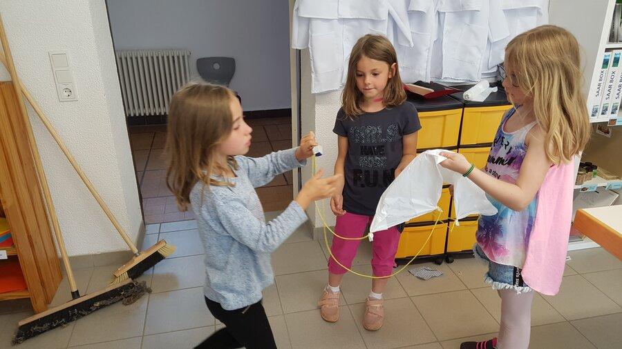 Fallschirme konstruieren
