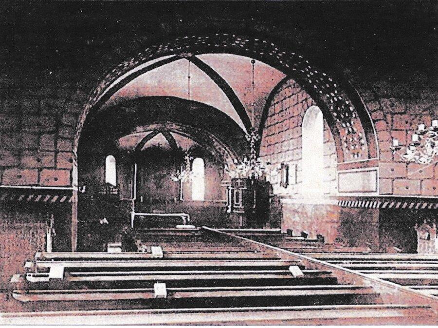 Ausgemalte Kirche