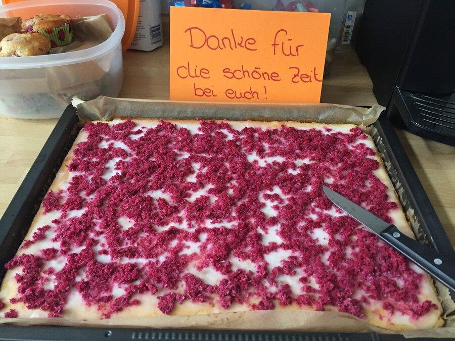 Dankeschön-Kuchen