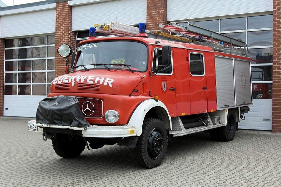 LF 16-TS - Löschgruppenfahrzeug  ;  Florian Havelland 05/45/01