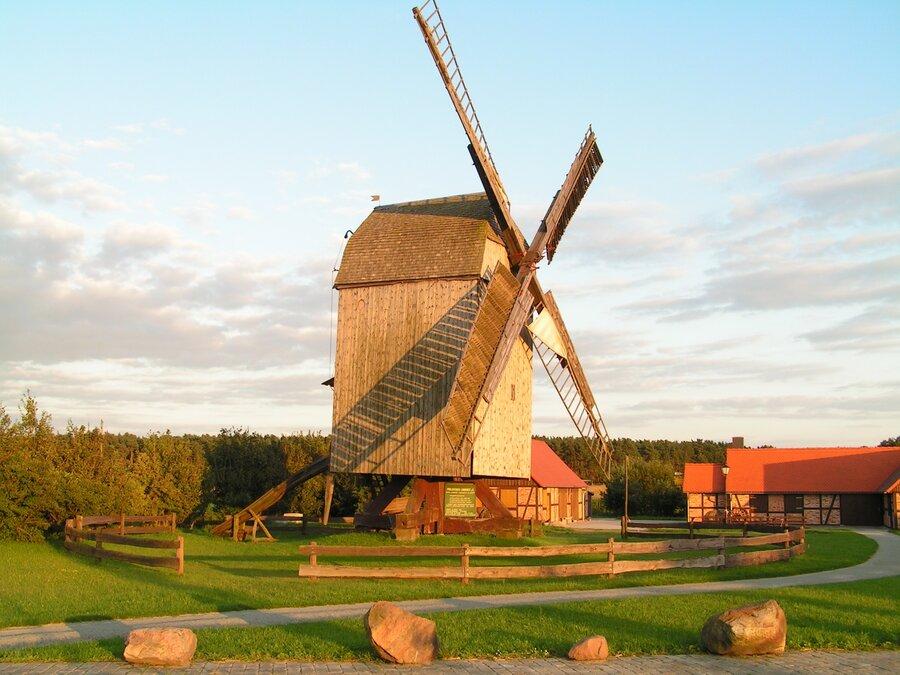 Bockwindmühle von Colbitz/Lindhorst