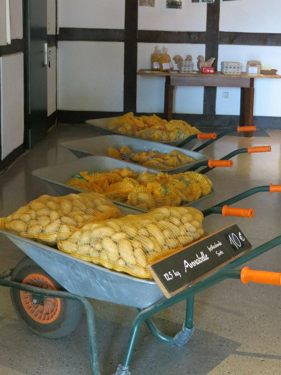 Kartoffeln für Karren