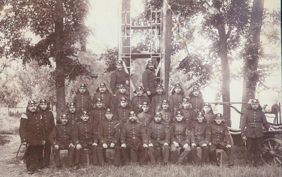 Gruppenbild 1902, © Dorfmuseum Tremmen