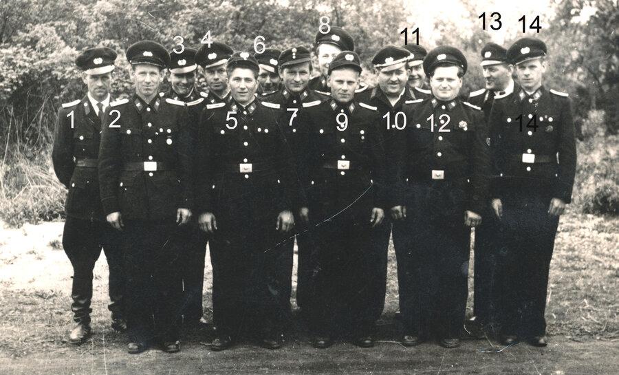 Gruppenfoto 1961, © Otto Lehnhardt