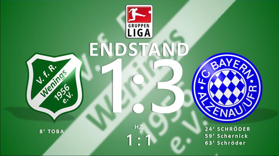 1. Spieltag - Endstand