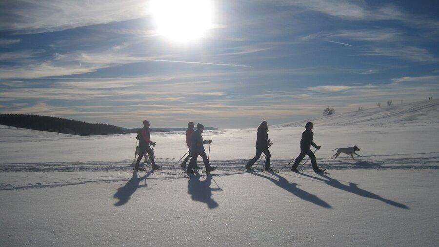 Schneeschuhtour 1