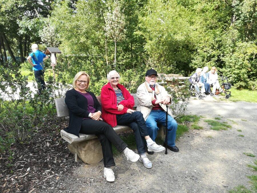 Seniorenkaffee am Gambachsweiher