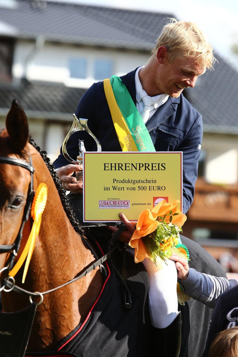 Felix Ewald - Sieger im Großen Preis 2017