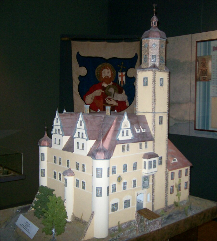 Modell vom Schloss