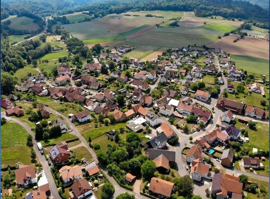 Sterkelshausen_von_oben