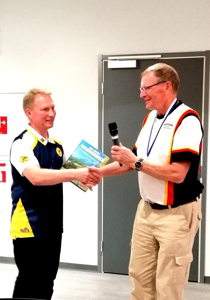 Danke für die vielen Jahre der Unterstützung bei der Entwicklung des Biathlon-OL in Deutschland