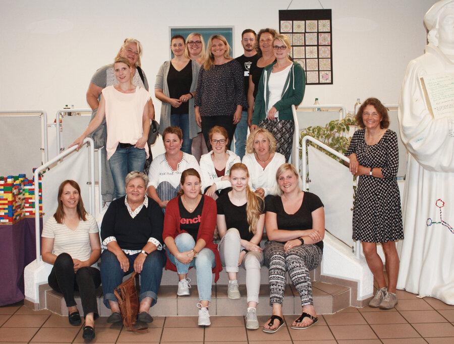 Teilnehmerinnen und Teilnehmer des Workshops vom 2.Juli 2019