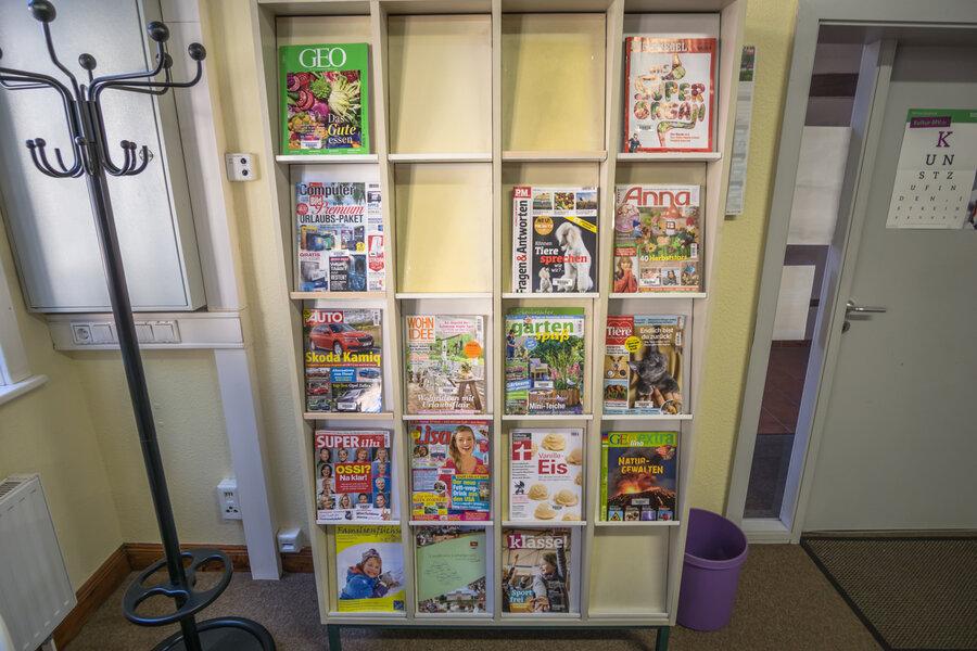 Fachzeitschriften in der Bibliothek der Stadt Neustadt-Glewe