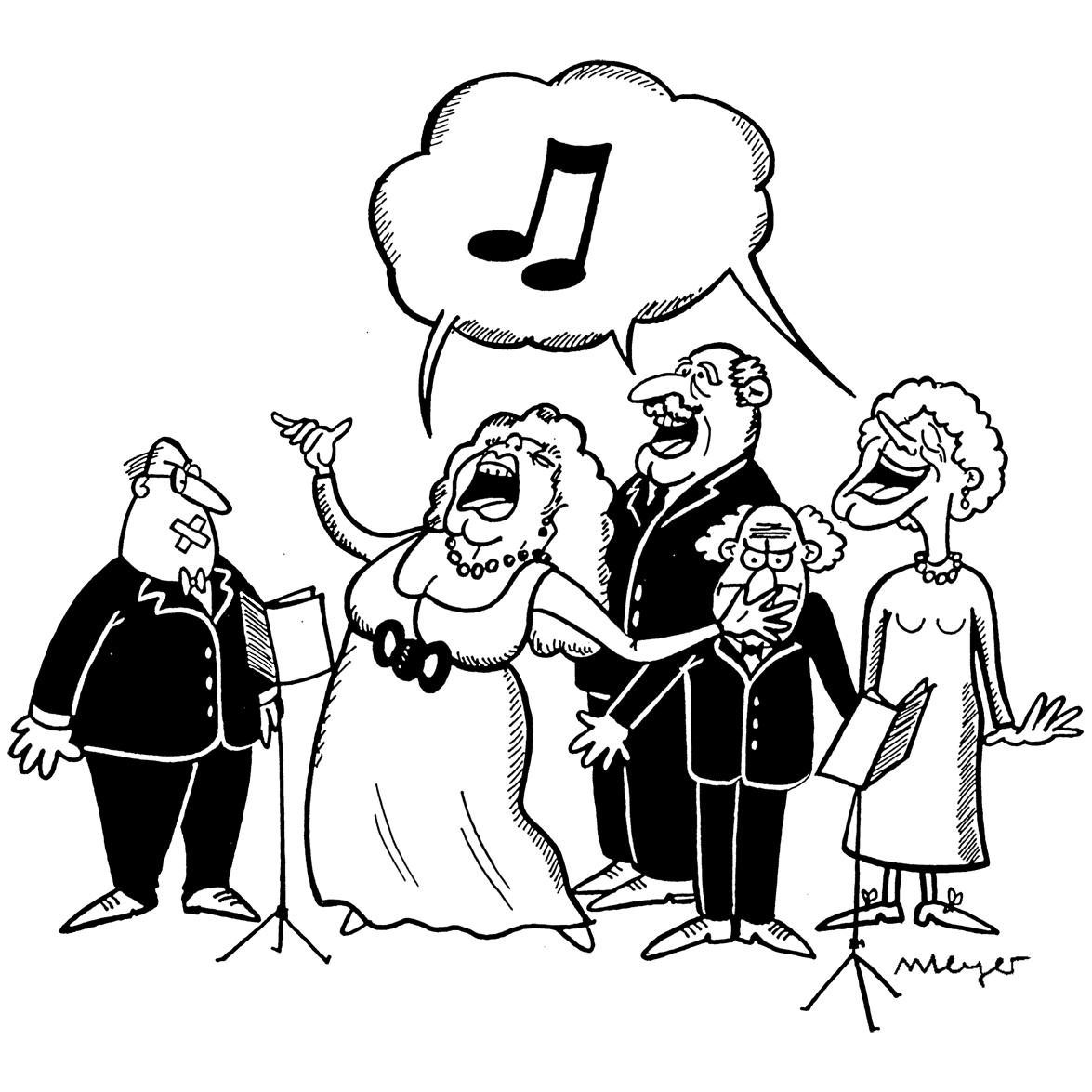 Aktive Senioren Leipzig - Chor - v G. Meyer