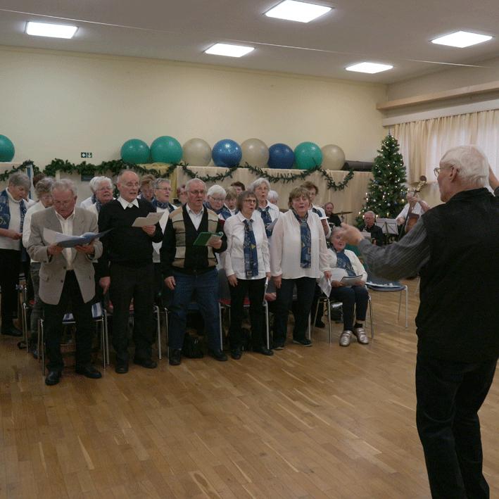Aktive Senioren Leipzig - Chor unter Wolfgang Haufe
