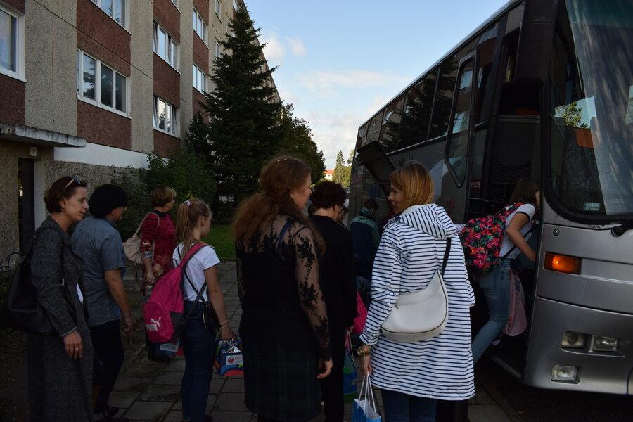 Abschied von unseren polnischen Gästen