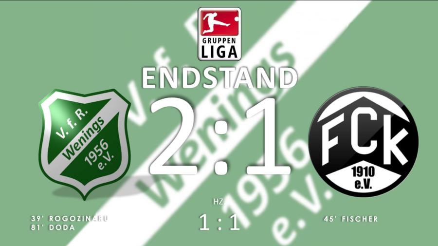 Endstand 6. Spieltag