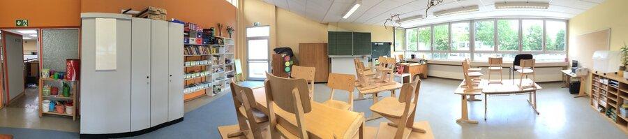 kleinerer Klassenraum