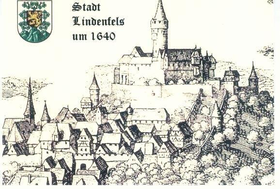 Karte Lindenfels