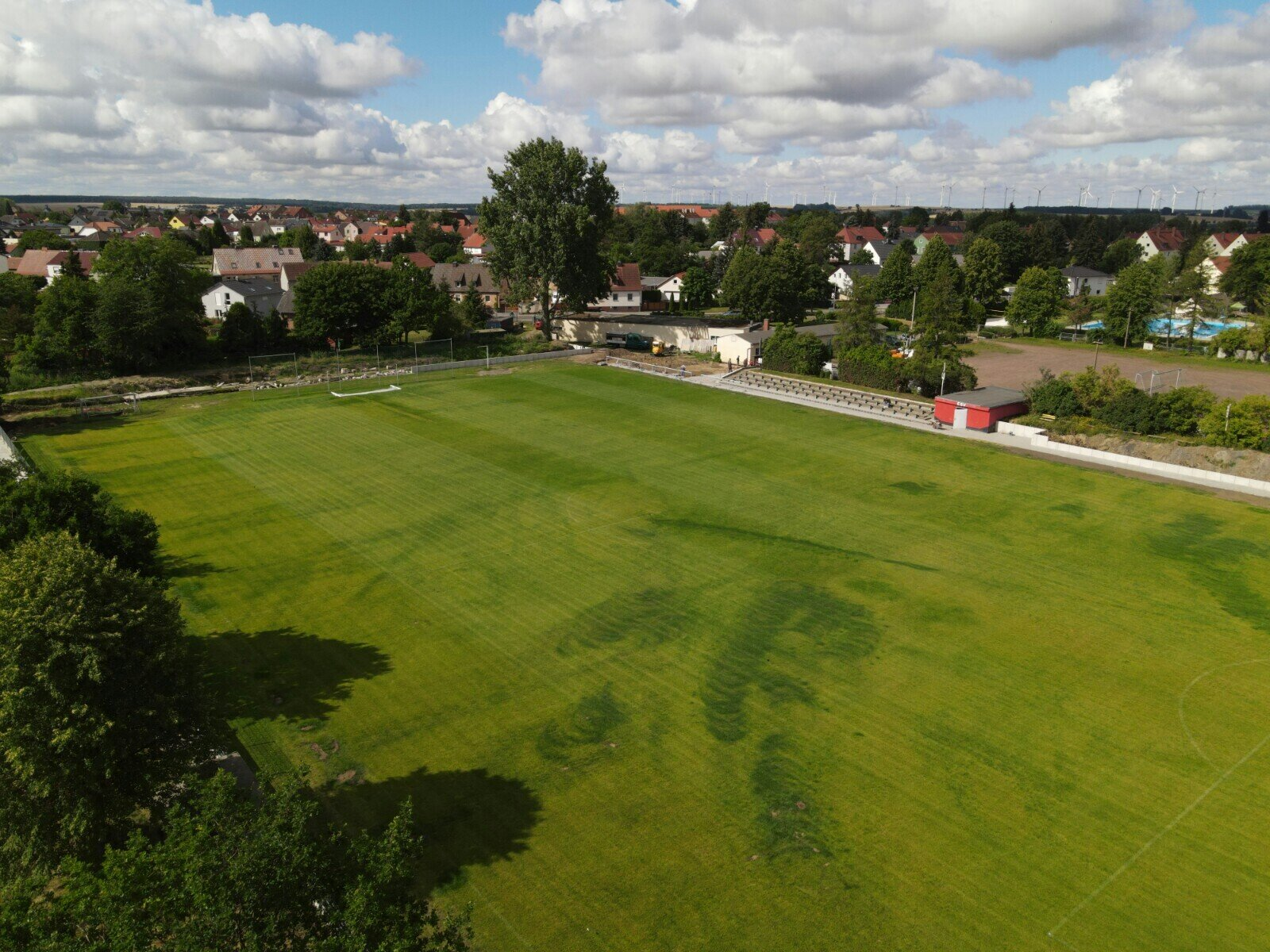 Sportplatz - Rasen