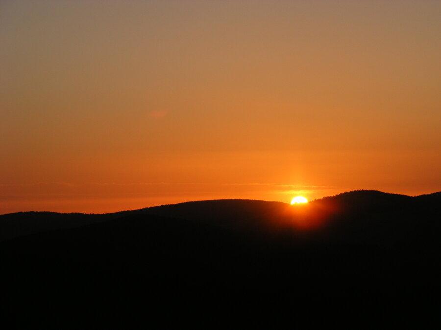 Sonnenaufgang Schauinsland